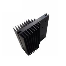 black anodized aluminium led profile ,aluminium heat sink