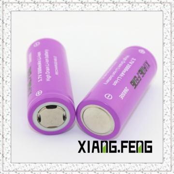 3.7V Xiangfeng 26650 3500mAh Batterie au lithium rechargeable Icr Modèle de batterie