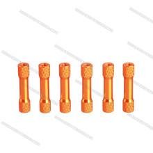 venda quente anodizado de alumínio standoff standoff colorido de alta qualidade