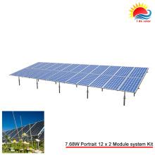 Kostengünstige Bodenstruktur Carport (SY0503)