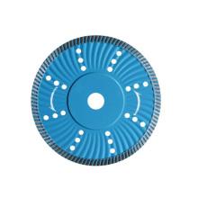 Бесшумный алмазный пильный диск Turbo Wave для камней (JL-RWDBS)