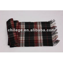 checked Cashmere Scarf scarfs/mufflers