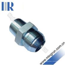 Adaptador hidráulico do tubo hidráulico masculino métrico do homem / NPT (1QN)