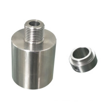 China factory supply precision custom pipes brass aluminum stainless steel spare cnc machining turning parts