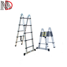 aluminium joint telescopic ladder 3.2 meters with EN131 CE certificate