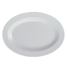"Melamine""Invisible Series"" Oval Plate Tableware/100% Melamine (WT316)"