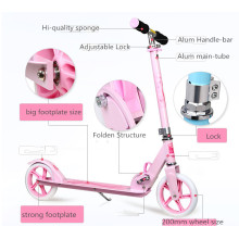 Kick Scooter with 200mm PU Wheel for Adult (YVS-002)