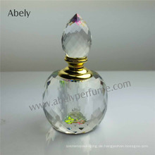 Kristall-Parfüm-Flasche für Duftöl-Fabrik-Preis