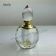 Frasco de perfume de cristal para o óleo de fragrância Preço de Fábrica
