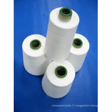 Fil de polyester filé pour fil à coudre (30s / 3)