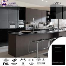 Mobiliario elegante moderno del gabinete de cocina del estilo europeo