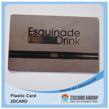 Gold/Silver/Black/Brushed Metal Cards for Customized