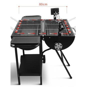 Mini Iron Spray Paint Grill Grill runden Tisch
