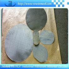 Malla de malla de malla de filtro de malla de alambre de acero inoxidable 304