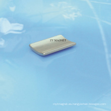 Imanes de alta calidad del neodimio del segmento del arco para el motor servo ISO14001
