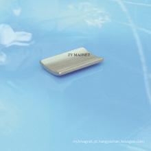 Ímãs de alta qualidade do neodímio do segmento do arco para o servo motor ISO14001