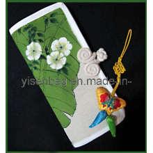 Chinoiserie Canvas Geldbörse Tasche (YSWB00-0009)