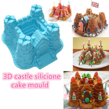3D Castle Silikon Backform