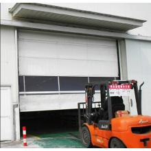 Exterior Stacking Folding Type PVC Fabric Door