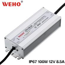 Single Output DC 12V 100W Waterproof Power Supply