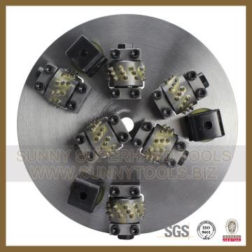 Sunnytools Handling 6t Diamond Bush Hammer pour le meulage de granit
