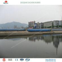 Aufblasbarer Gummidamm weit verbreitet für Wasser-Erhaltungsprojekt