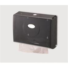 Black Decorative Fancy Public Wholesale Wall Mounted Plastic Tissue Paper Dispenser