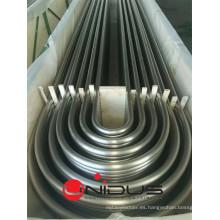 Tubo intercambiador de calor de acero inoxidable