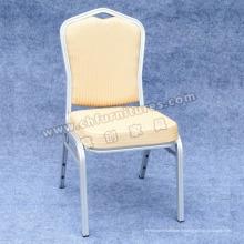 Chaise d'hôtel de couleur crème (YC-ZL25-02)