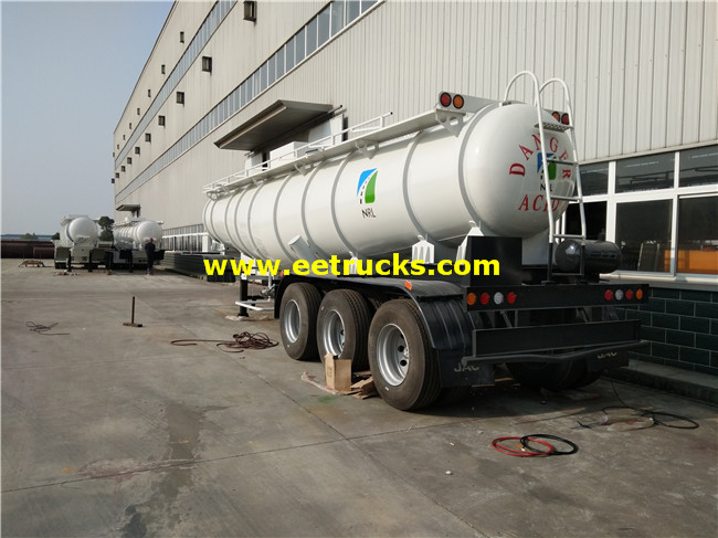 19,000L 98% Sulfuric Acid Transport Semi-Trailers