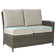 Garden Chair Left Part Wicker Corner Sofa