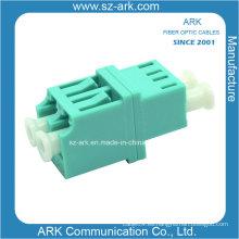 Fibra óptica para LC / PC mm Adaptadores de fibra óptica