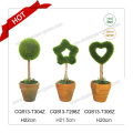 10-18cm Pequeñas Plantas Plásticas Artificiales Bonsai