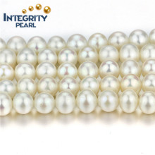 Correa de agua dulce vendedora caliente del filamento 8mm AA + de la perla cerca del filamento chino de la perla