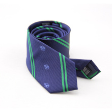 Men's Stripe Polyester Double Sided colorful Ties