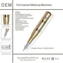 Golden Rocket Digital Permanent Makeup Pen and Tattoo Machine Kit