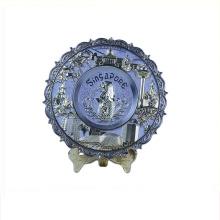 Art use good quality commemorative plate wholesale spain souvenir