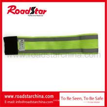 100 % Polyester elastische reflektierende Sicherheit Armband für Sport