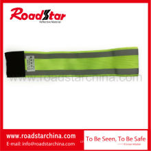 100% polyester elastic reflective safety armband for sports