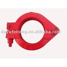 schwing concrete pump pipe clamp