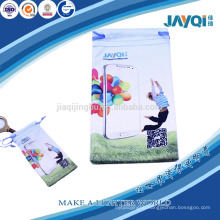 small nylon cell phone pouch with digital printing