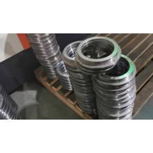 custom Nylon cage GCr15SiMnp4p2 double-direction thrust YRTM395 rotary table bearing