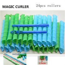Hair Magic Leverag 24PC / 55cm Curler (HEAD-31)
