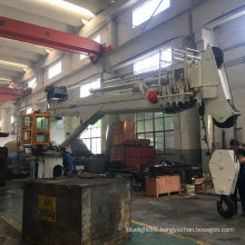 Telescopic Boom Slewing Deck Crane Safety