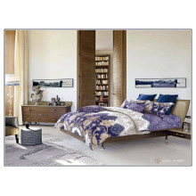 133 * 72 motif de luxe souple de haute qualité réactive coton imprimé en gros feuille de draps de lit