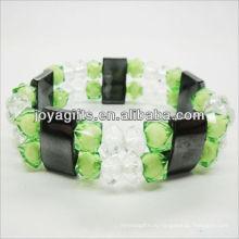 01B5004-2 / новые товары для 2013 / гематит проставка браслет ювелирные изделия / гематит браслет / магнитный гематит здоровья браслеты