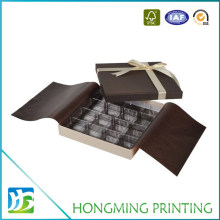 Custom Design Cardboard Boxes Chocolate with Divider