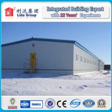 Entrepôt préfabriqué de structure métallique de 20 * 100m