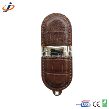 2013 Fashionable Leather USB Flash Drive (JL15)