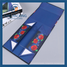 Folded Magnet Cardboard Box for Bathroom Accessories